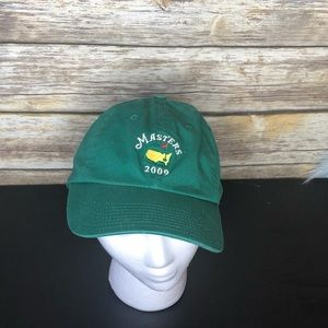 Masters gold tournament dad hat baseball cap 2009